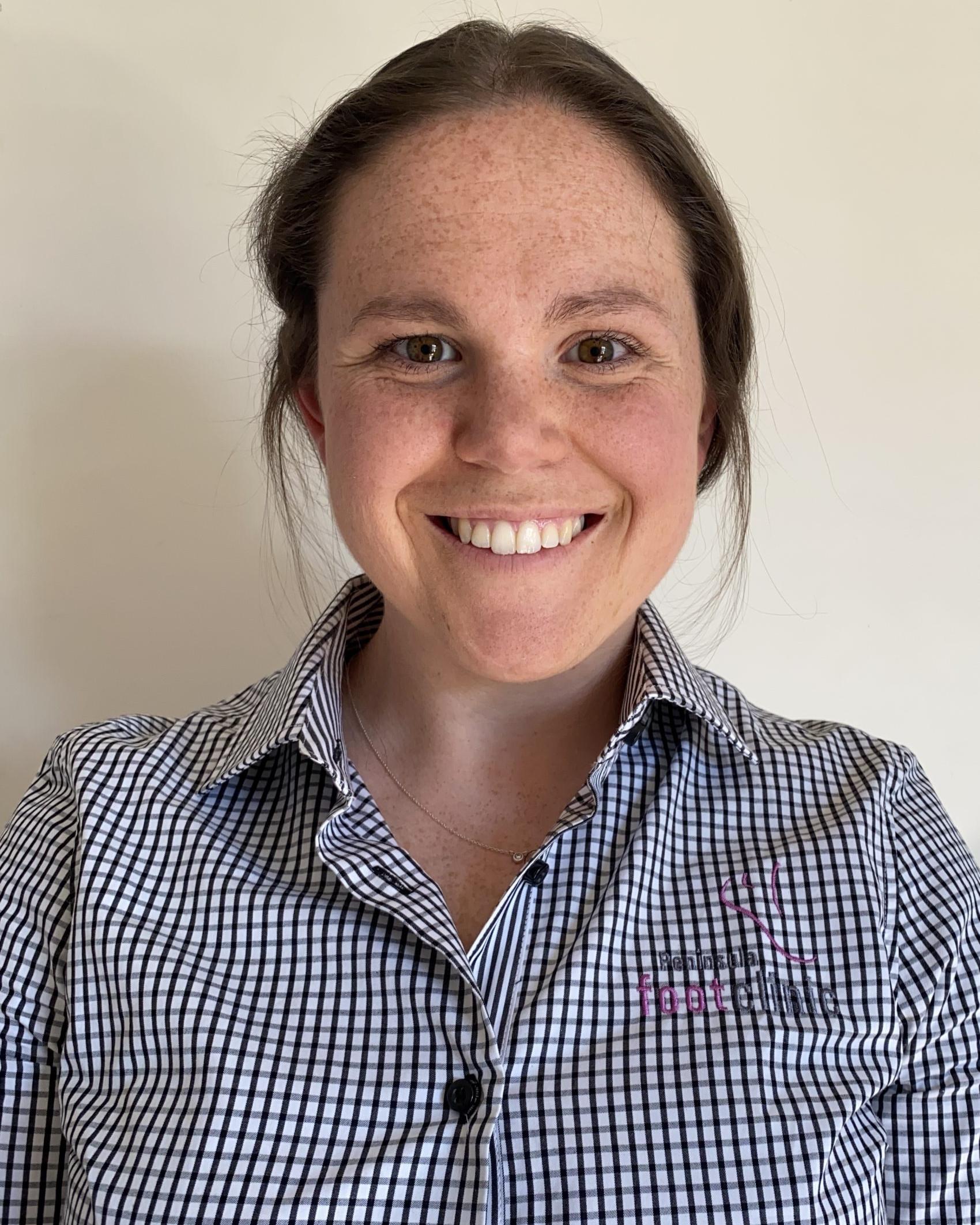 Melanie Adams Podiatrist at Peninsula Foot Clinic Rosebud and Dromana